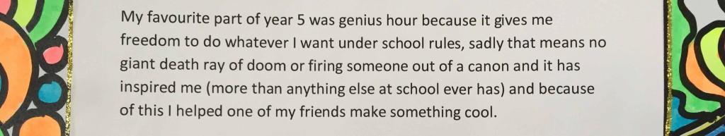 Grade 4 letter
